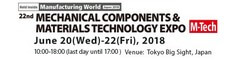 22nd Mechanical Components & Materials Technology Expo